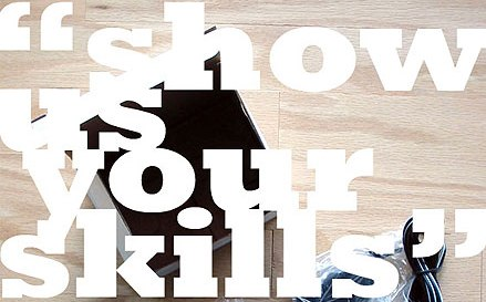 How to showcase your skills online