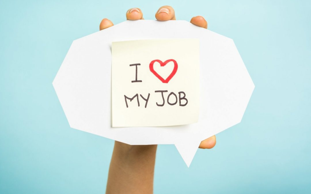 What does 'being passionate' about your job actually look like?
